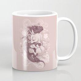 Dragon and Unicorn Coffee Mug