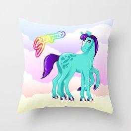 LF Sleipnir Throw Pillow