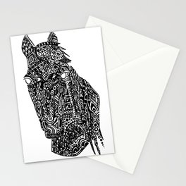 Complex Horse Stationery Cards