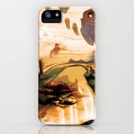 Fantastical Landscape iPhone Case