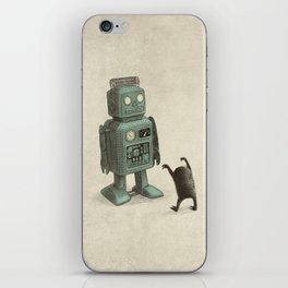 Robot Vs Alien iPhone Skin