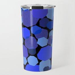 Blue Mica Travel Mug