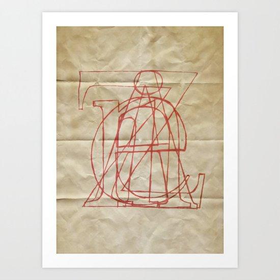 Zaine Art Print