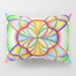 The Four Directions - The Rainbow Tribe Collection Pillow Sham