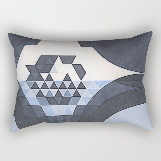 Geometric K9 Rectangular Pillow