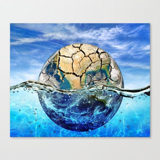 Global Warm Canvas Print