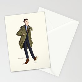 mr. Fishtail Stationery Cards