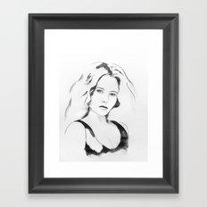 portret N89 Framed Art Print