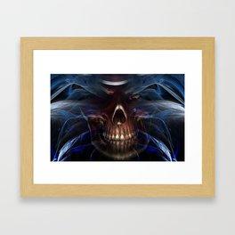 Feeling Good In Death Framed Art Print