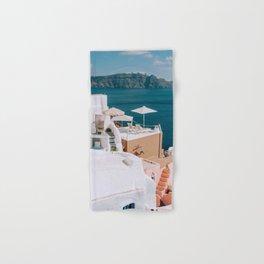 I Sea How It Is | Santorini, Greece Hand & Bath Towel