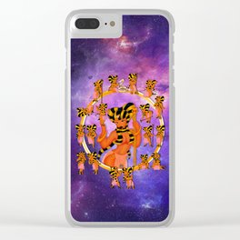 Queen 2 Chibi Set Clear iPhone Case