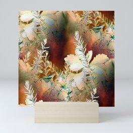 Fall Colored Sedum Mini Art Print