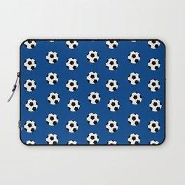 Neck Gaiter Soccer Balls Blue Soccer Team Neck Gator Laptop Sleeve