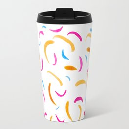 Flickering fireworks Travel Mug