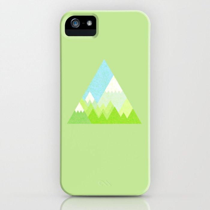 national park geometric pattern iPhone Case
