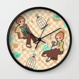 Bioshock Infinite - Luctece Twins Wall Clock