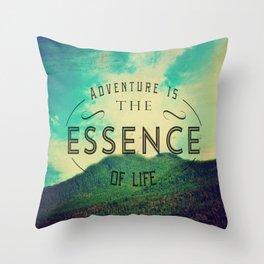 Essence Of Life  Throw Pillow