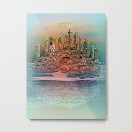 Memory Island Metal Print