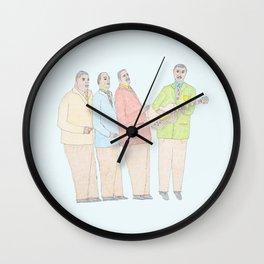 The Mills Bros Wall Clock