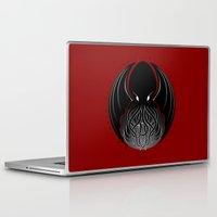 cthulhu Laptop & iPad Skins featuring Cthulhu by tuditees