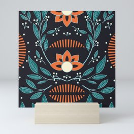 Dark flora 001 Mini Art Print