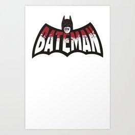 BATEMAN Art Print
