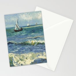 Van Gogh Seascape Stationery Cards