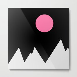 Black Mountain Metal Print