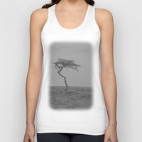 alone Tank Tops featuring alone... by Chernobylbob