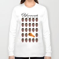 maine Long Sleeve T-shirts featuring Yarmouth, MAINE by Devin Sullivan