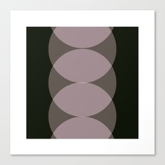 #79 Ping pong – Geometry Daily Canvas Print