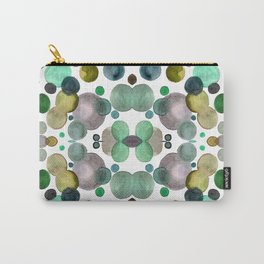 Watercolor circles Carry-All Pouch