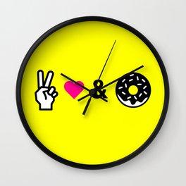 Eternal Happiness Wall Clock