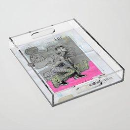 SEND NUDES Acrylic Tray