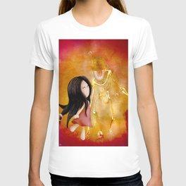 Amis pour la vie  !   Zoey  and Monsieur Bone ( artwork realize by Lou jah and Joe Ganech ) T-shirt