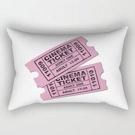 Cinema Tickets Rectangular Pillow