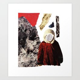Red child Art Print