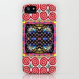 Endless snail Hmong art iPhone Case