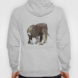 Bibliophant - enormous lover of books Hoody