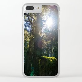 Light Through the Branches Clear iPhone Case