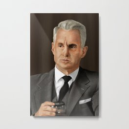 Roger Sterling (Mad Men) Metal Print