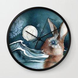 Barnacle Bunny Wall Clock