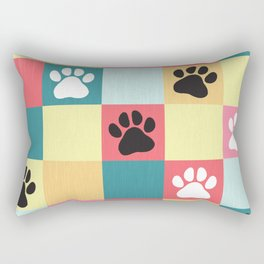 Paws Rectangular Pillow
