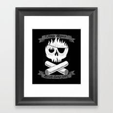 Pirate Camp Framed Art Print