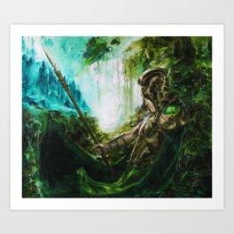 Judge Deirdre Art Print