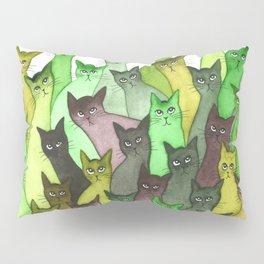 Lebanon Many Whimsical Cats Pillow Sham