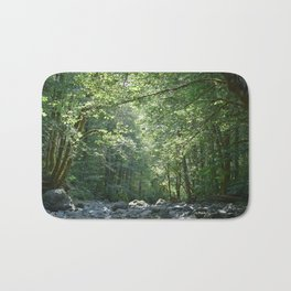 Elk Creek in Tillamook Oregon Bath Mat