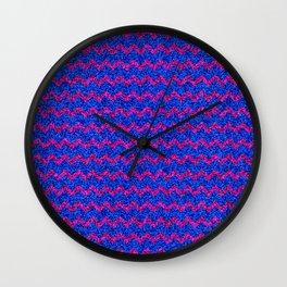 Chevron Glitter Pattern 03 Wall Clock
