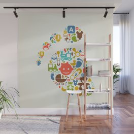 Kid a trace Wall Mural
