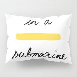 In a Yellow Submarine x Telma W. Pillow Sham